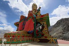 Statue of Maitreya Buddha, Diskit Monastery