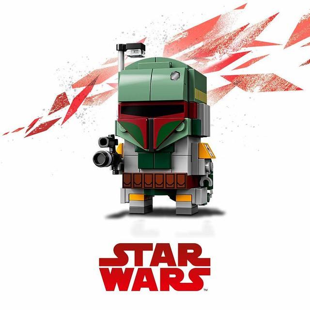 Trzy kolejne zestawy LEGO BrickHeadz Star Wars (3)