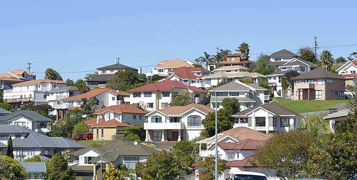 Häuser in Auckland