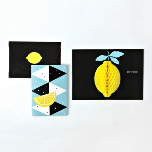 Lemon Pop-Up Card