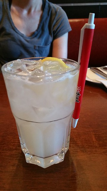 2018-Jul-11 Bistro Wagon Rouge - Housemade Lavender Lemonade