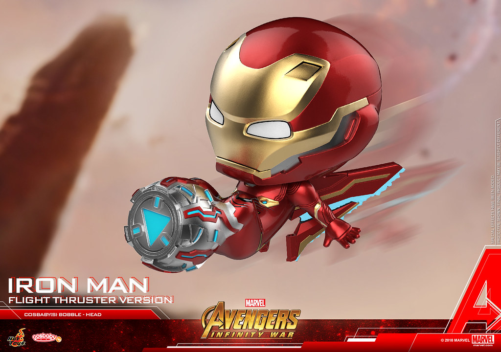 各種經典片段可愛立體化!! Hot Toys – COSB493-505 –《復仇者聯盟3:無限之戰》Avengers: Infinity War Cosbaby Bobble-Head Series