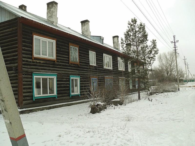 Алейск, улица Железнодорожная № 43.