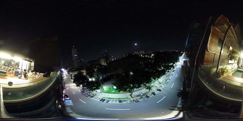二二八公園夜景照