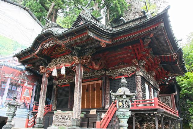 Haruna Jinja Shrine, Front Shrine (Gunma, Japan)