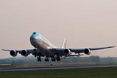 Boeing 747-8B5 HL7636 — Korean Air Airlines