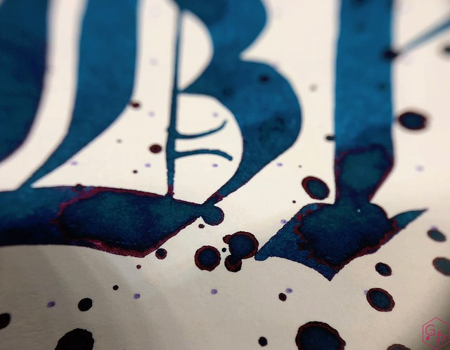 Blackstone Blue Gum Ink Review @AppelboomLaren 10