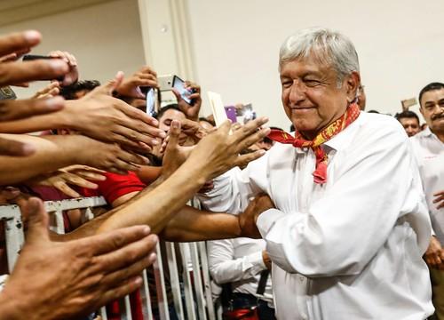 Cierre de campaña AMLO en Hermosillo, SON.