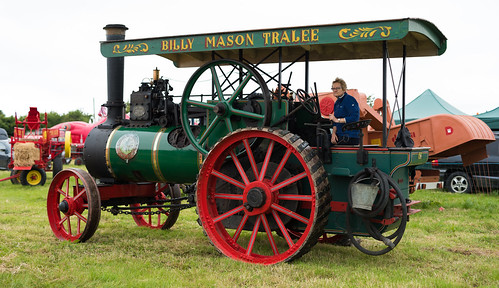 Vintage Threshing steam engine