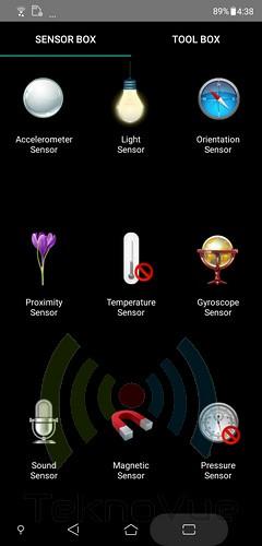 ASUS Zenfone 5 - Sensor Box