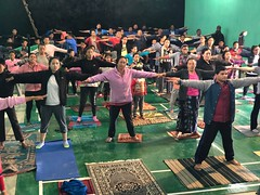 International Yoga Day VKV Mukto Tawang