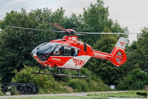 DRF Luftrettung Airbus Helicopters H135 T3H D-HRTD