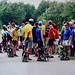Folding bike race
