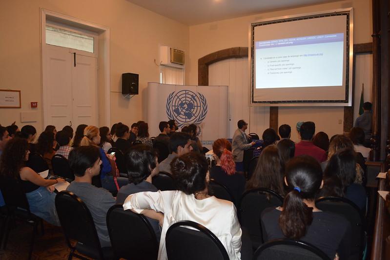 Centro de Informação da ONU realiza conversa informativa com estudantes do Cefet-RJ