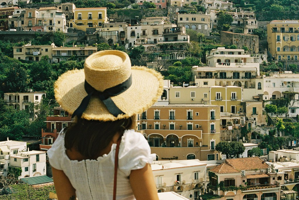 The Little Magpie Positano Praiano Amalfi Coast Film 35mm