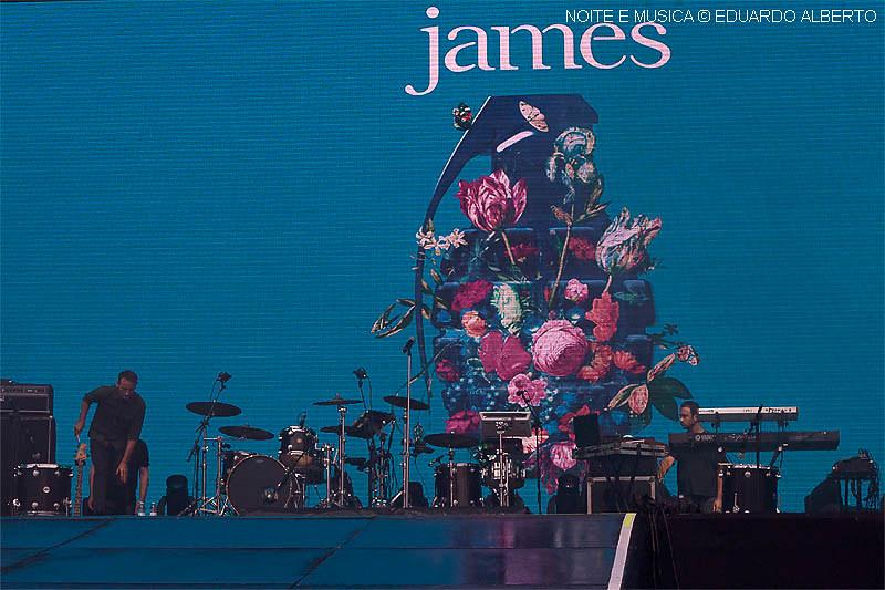 James - Rock in Rio-Lisboa '18