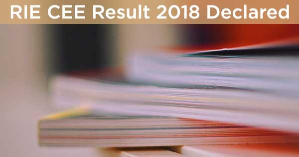 rie cee result declared