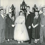1956-04-2 Elaine+Richard Wedding