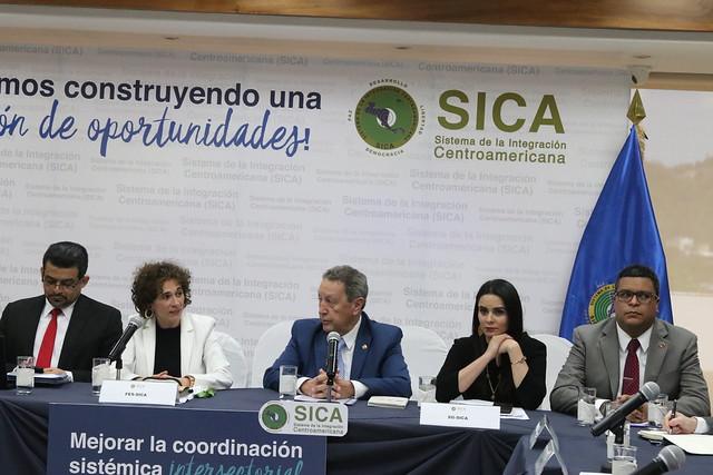 Institucionalidad del SICA sesiona con Fondo España de cara a cuarta fase del nuevo fondo de cooperación