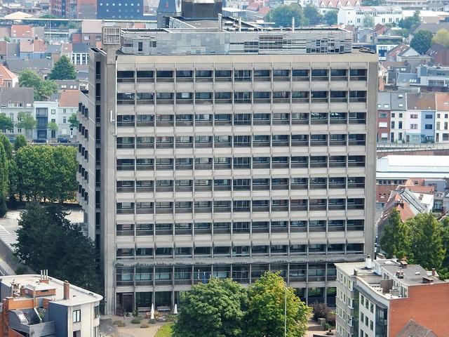uitzicht op toren Sint-Baafskathedraal: Belgacomtoren