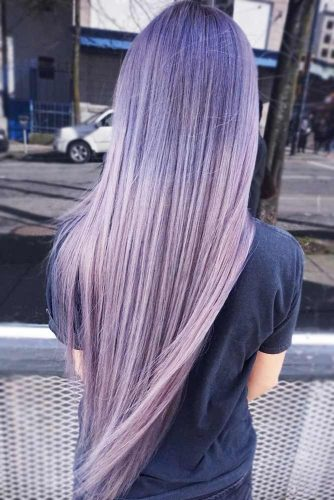 Latest Lavender Hair Color To Adopt The Newest Trend 4