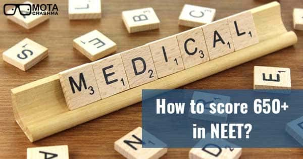 how to score 650 in neet