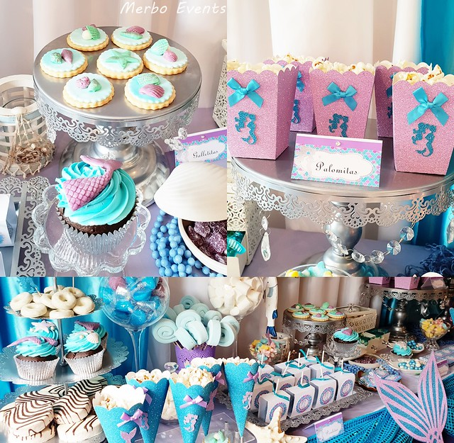 Baby Shower sirenita Merbo Events