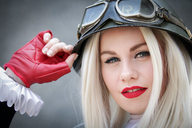 Harley Quinn cosplayer at, Canon EOS 750D, Sigma 50-100mm f/1.8 DC HSM | A