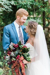 Ethereal Early Fall Wedding At Dunaway Gardens