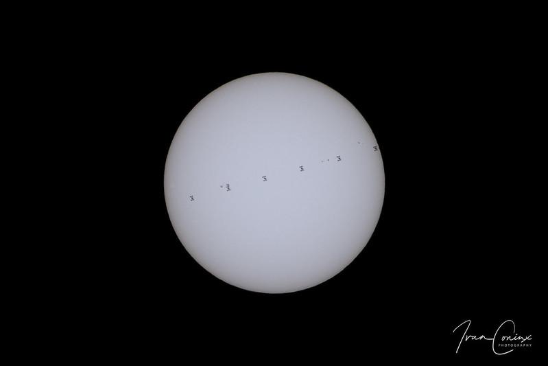 ISS Solar Transit – Kontich – 2018 06 20 – 01 – Copyright © 2018 Ivan Coninx