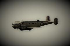 BEECH 18 IN FLIGHT