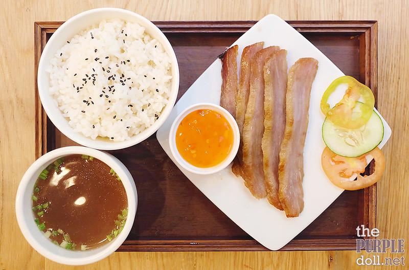 Matsusaka Pork Jowl Rice (P380)