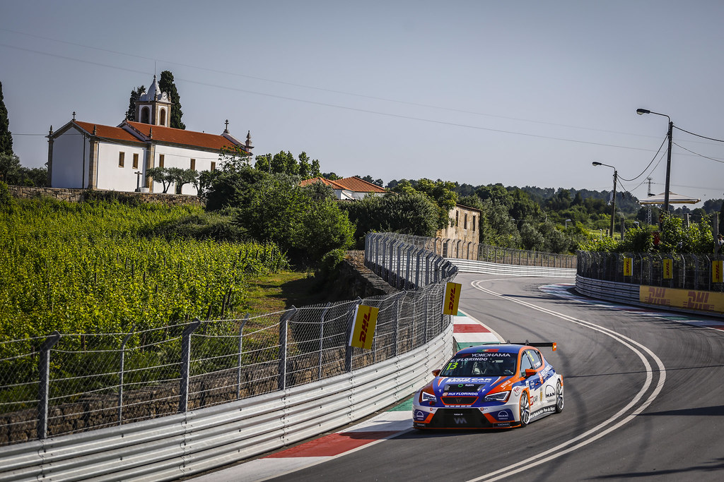 13 FLORINDO Edgar (PRT), Seat Cupra TCR, Veloso Motorsport, action during the 2018 FIA WTCR World Touring Car cup of Portugal, Vila Real from june 22 to 24 - Photo Francois Flamand / DPPI