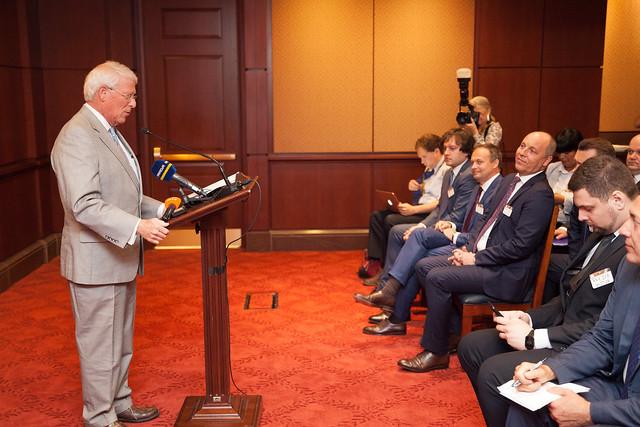 Președintele Andrian Candu la evenimentul organizat de American Foreign Policy Council