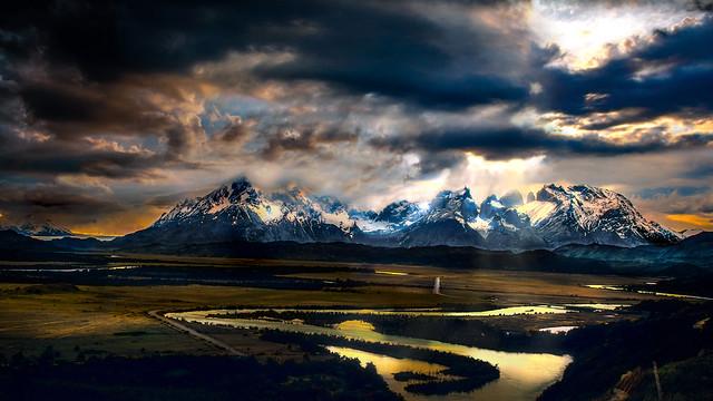 Torres del Paine National, Nikon D5200, AF-S DX Zoom-Nikkor 55-200mm f/4-5.6G ED