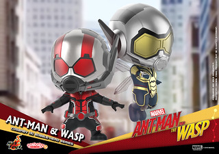 Amazing at Every Size! Hot Toys – COSB489 - COSB492 – Ant-Man and the Wasp Cosbaby (S) Bobble-Head Series