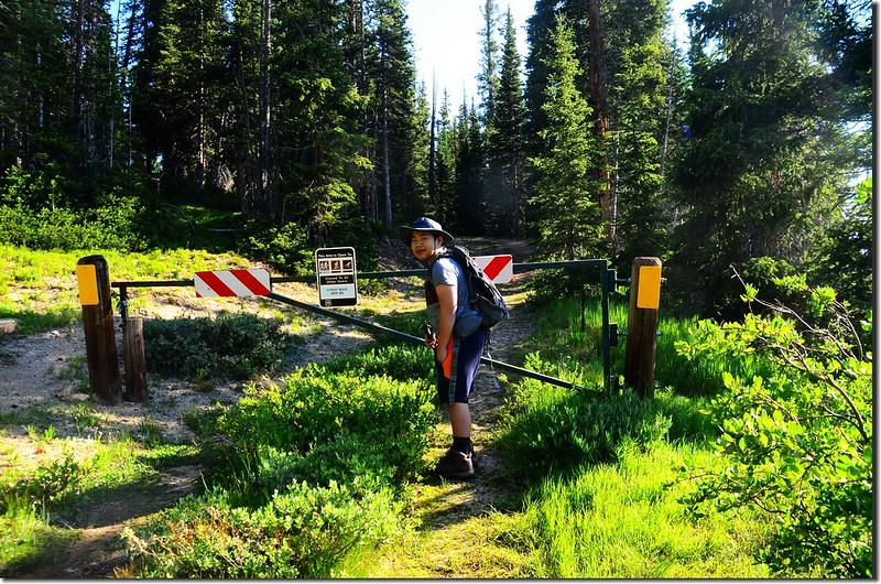 Berthoud Pass Ditch trailhead 1