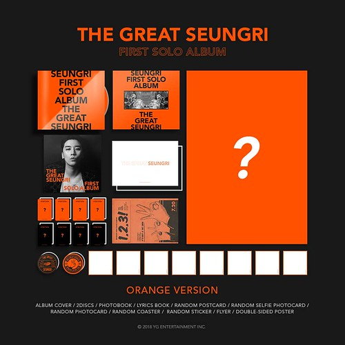 Seungri THE GREAT SEUNGRI Solo Album 2018 (23)