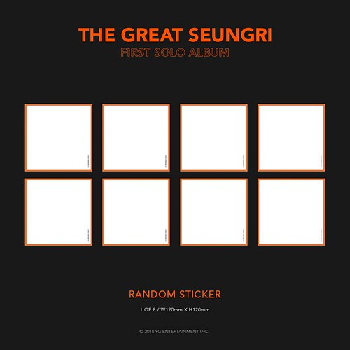 Seungri THE GREAT SEUNGRI Solo Album 2018 (13)