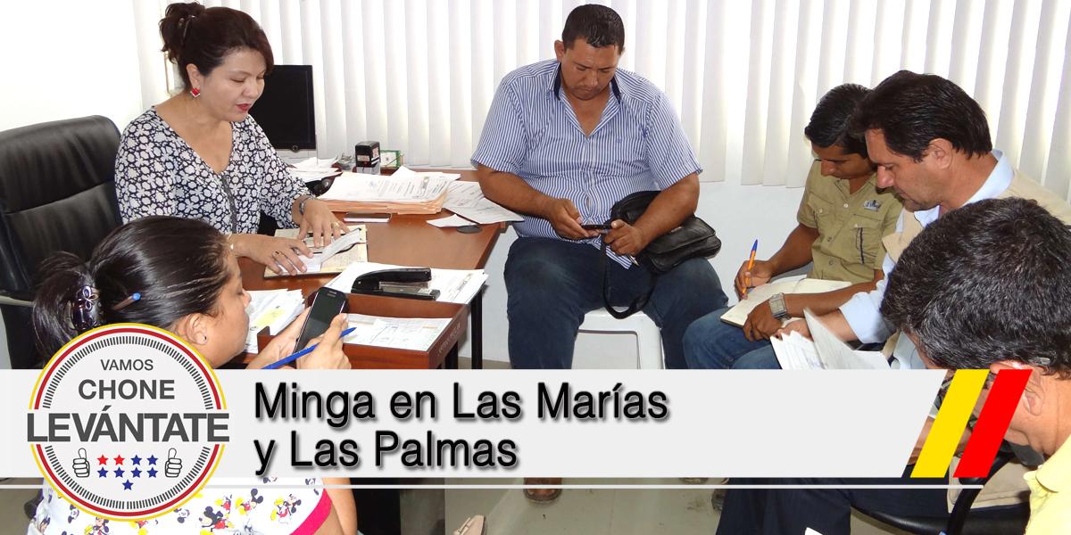Minga en Las Marías y Las Palmas