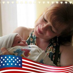 My Fourth of July Grandson