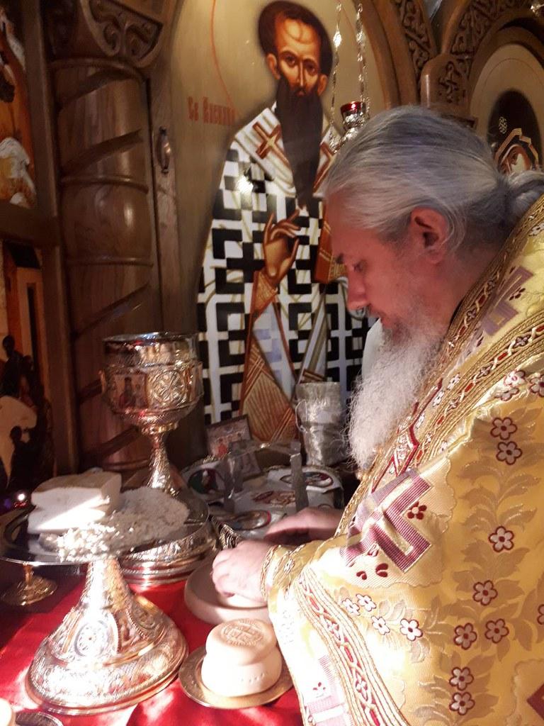 Соборне богослужіння в Свято-Михайлівському храмі с. Білогородка