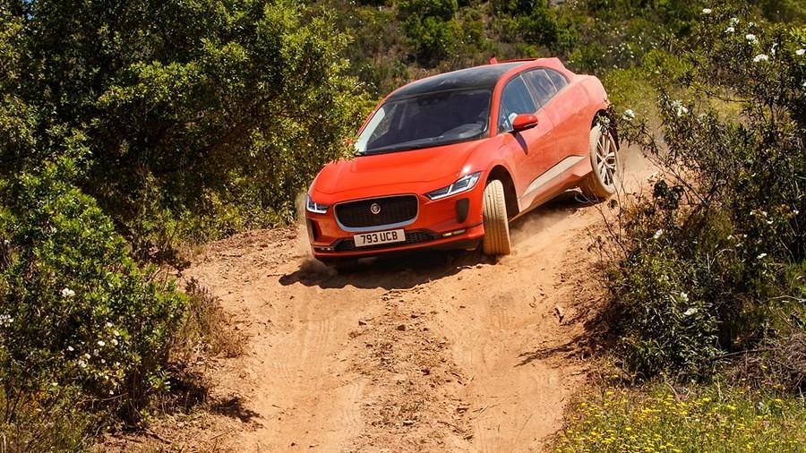 Jaguar I-Pace drive 5