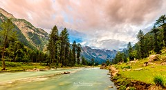 Panoramic View of Kumrat Valley, KPK, Pakistan