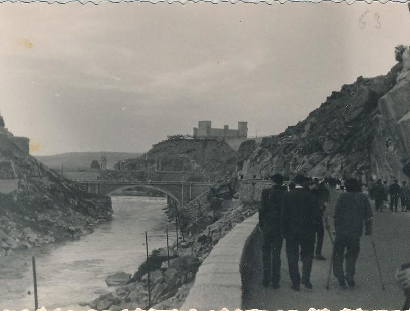 Carretera del Valle hacia 1963. Fotografía de Julián C.T.