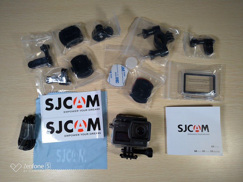 SJCAM SJ8 Pro 開封レビュー (11)