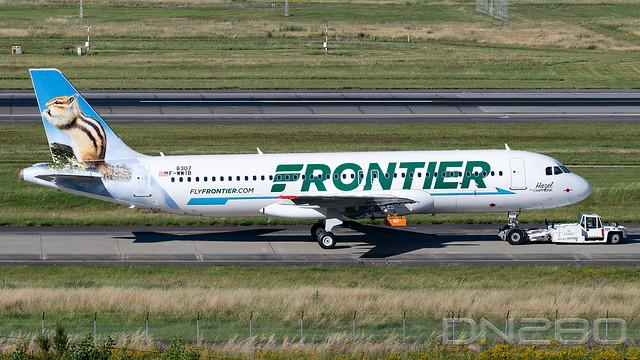 Frontier A320-251N msn 8307