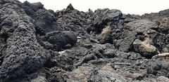 Lava (cold) on Etna's top