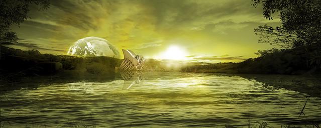 Yellow sun 1-aa