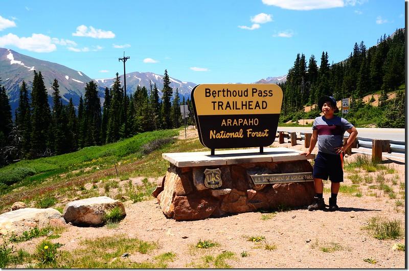 Berthoud Pass Trailhead